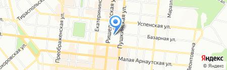 Мастерская по ремонту обуви на карте Одессы