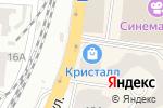 Схема проезда до компании Room4Amor в Одессе