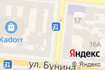 Схема проезда до компании Baby Chic в Одессе