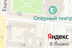 Схема проезда до компании Моцарт в Одессе