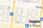 Схема проезда до компании Цитрон Фуд в Одессе