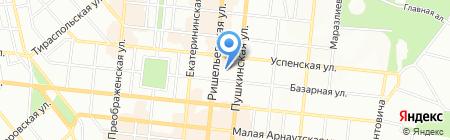 Нотариус Михайлюченко С.А. на карте Одессы