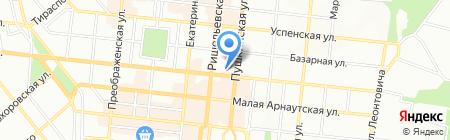 Інтерфарм на карте Одессы