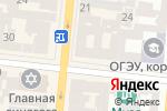Схема проезда до компании Кожмастер в Одессе