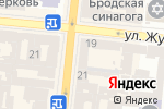 Схема проезда до компании L`akmus в Одессе