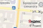 Схема проезда до компании Alta moda в Одессе