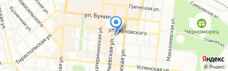 Служба 52 на карте Одессы
