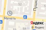 Схема проезда до компании Штампсервис в Одессе