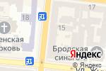 Схема проезда до компании BRASCHI в Одессе