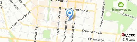Вечерняя (сменная) общеобразовательная школа №19 II-III ступеней на карте Одессы