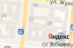 Схема проезда до компании Служба 52 в Одессе