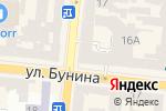 Схема проезда до компании Токіо Хаус в Одессе