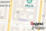 Схема проезда до компании Эйфория в Одессе