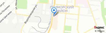 Семафор на карте Одессы