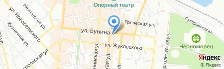 Щастье на карте Одессы