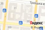 Схема проезда до компании Планета-М в Одессе