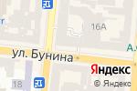 Схема проезда до компании ПремьерЭкспресс в Одессе
