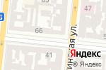 Схема проезда до компании Лівша в Одессе