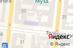 Схема проезда до компании Lash Room Евгении Огрохиной в Одессе