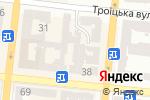 Схема проезда до компании Софилайт в Одессе