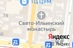 Схема проезда до компании Подушка в Одессе