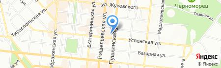 Эш ЧП на карте Одессы