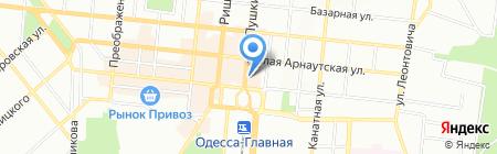 Van der Tour на карте Одессы