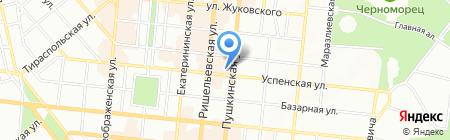Енергобанк на карте Одессы