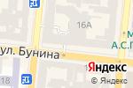 Схема проезда до компании Круг друзей в Одессе