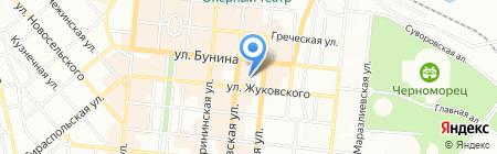 Союз Чернобыль на карте Одессы