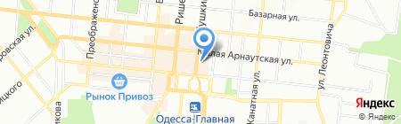 Воскресная школа на карте Одессы