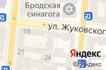Схема проезда до компании Комплюс в Одессе