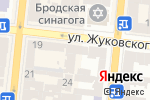 Схема проезда до компании Hotel Spa Service в Одессе