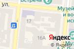 Схема проезда до компании Fratelli в Одессе