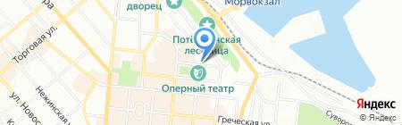 ЛенМар на карте Одессы