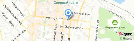 Камасутра на карте Одессы