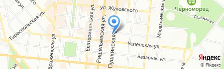 Банкомат Промінвестбанк на карте Одессы