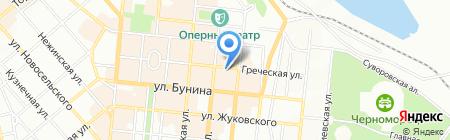 Банкомат КомІнвестБанк на карте Одессы