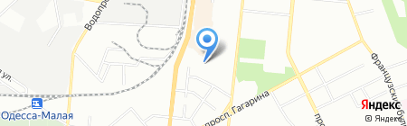 Таверна на карте Одессы