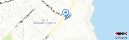 Школа-интернат №5 на карте Одессы