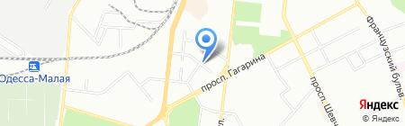Родильный дом №1 на карте Одессы