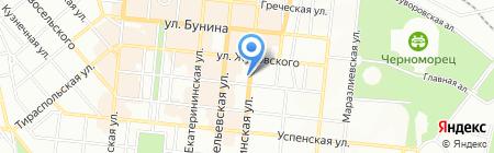 Банкомат УКРЕКСІМБАНК на карте Одессы