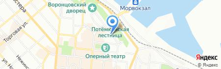 Муниципал-Одесса на карте Одессы