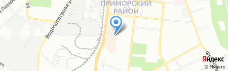 Maestro на карте Одессы