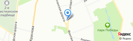 Фарго Шиппинг ЧП на карте Одессы