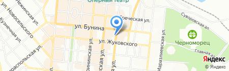 ОВПУМТС на карте Одессы