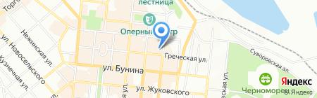 Дом медработников на карте Одессы