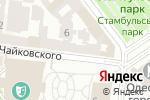 Схема проезда до компании Sigma-Marine в Одессе