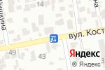 Схема проезда до компании Da Vinci в Одессе