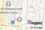 Схема проезда до компании Даймэкс в Одессе